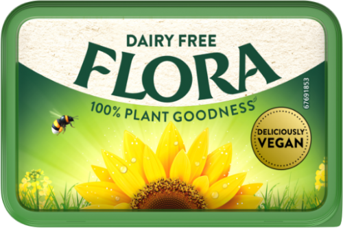 Flora Dairy Free 10g single portions - Short Dated